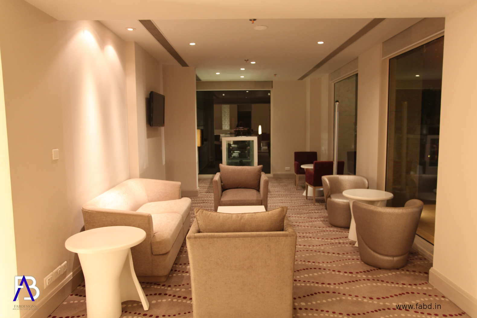 Lounge Area Interior View 01