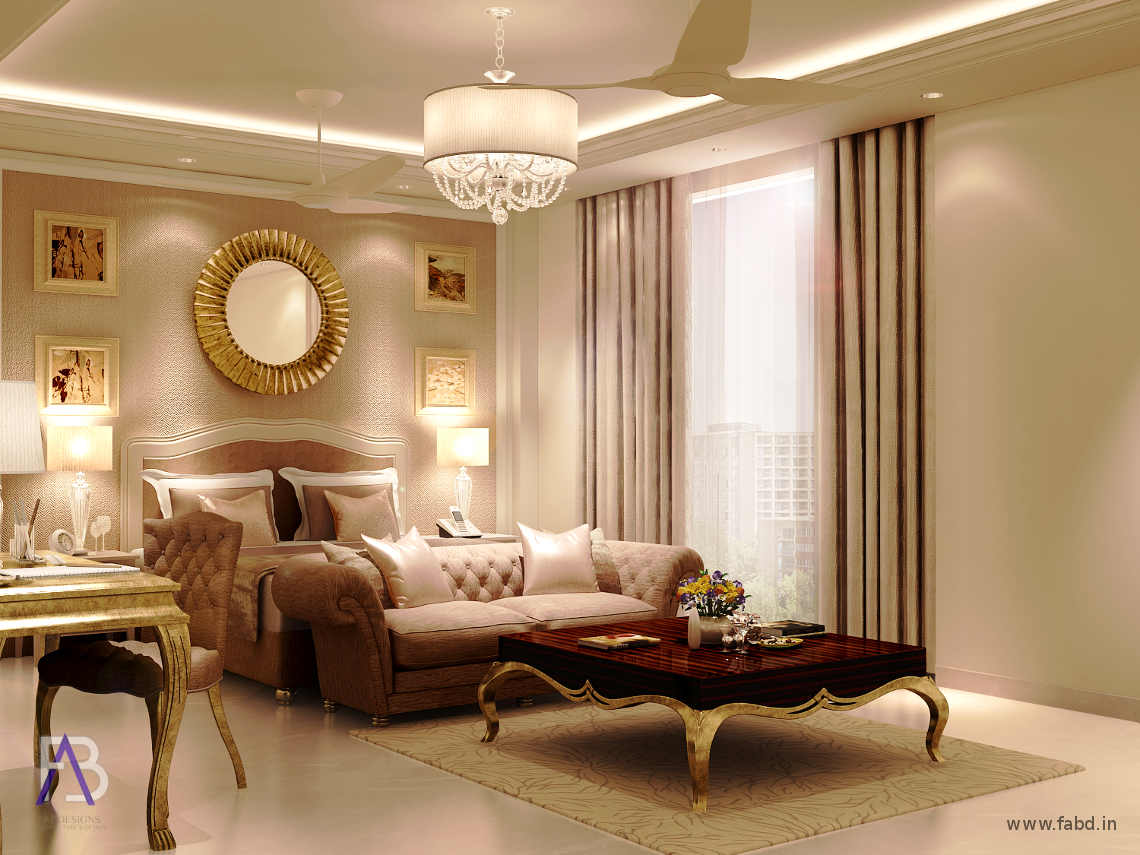 Master Bedroom Interior Rendering