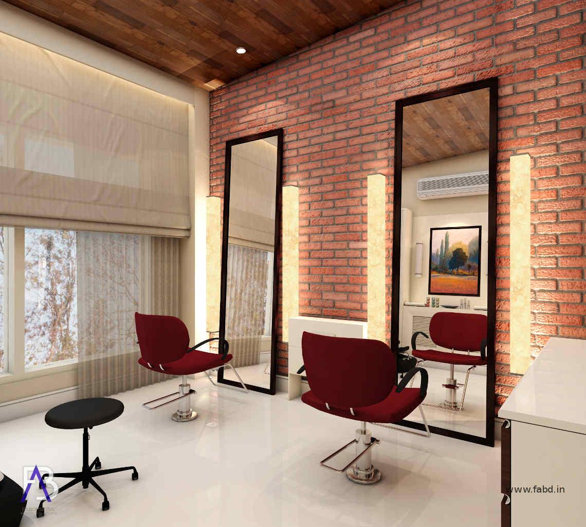Residence Parlor Interior Rendering 01