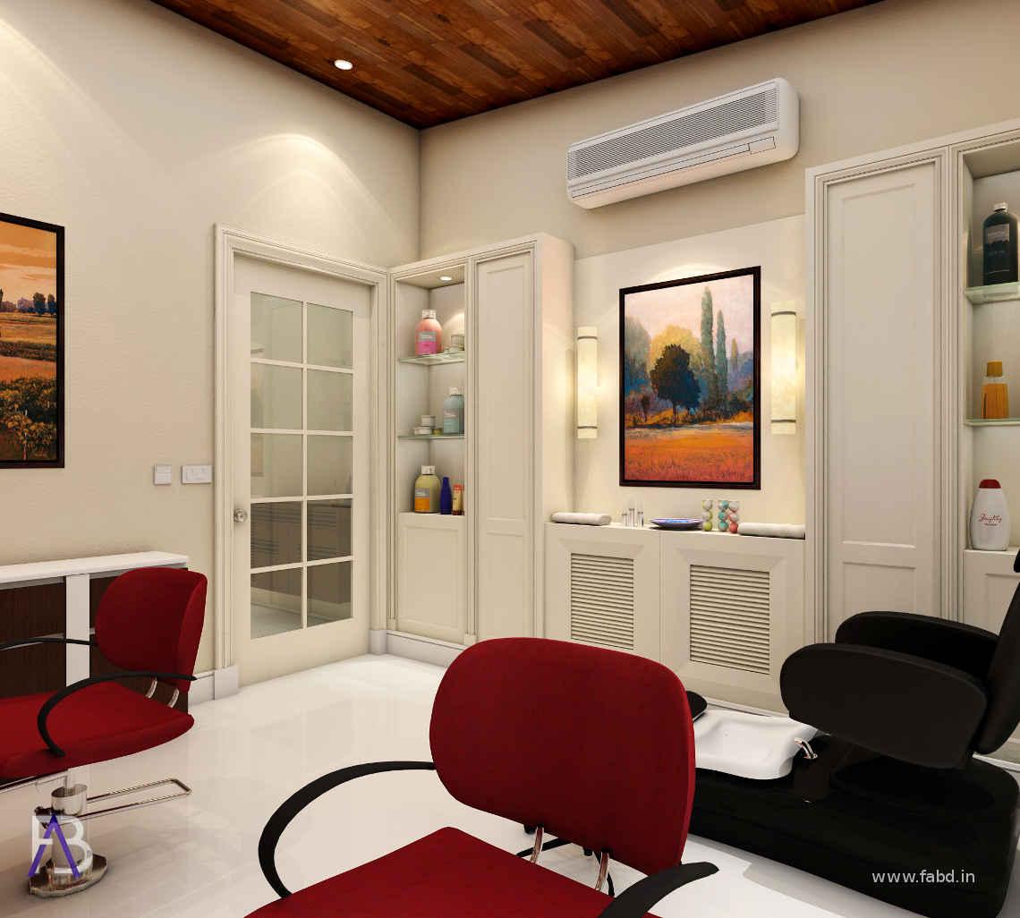 Residence Parlor Interior Rendering 02