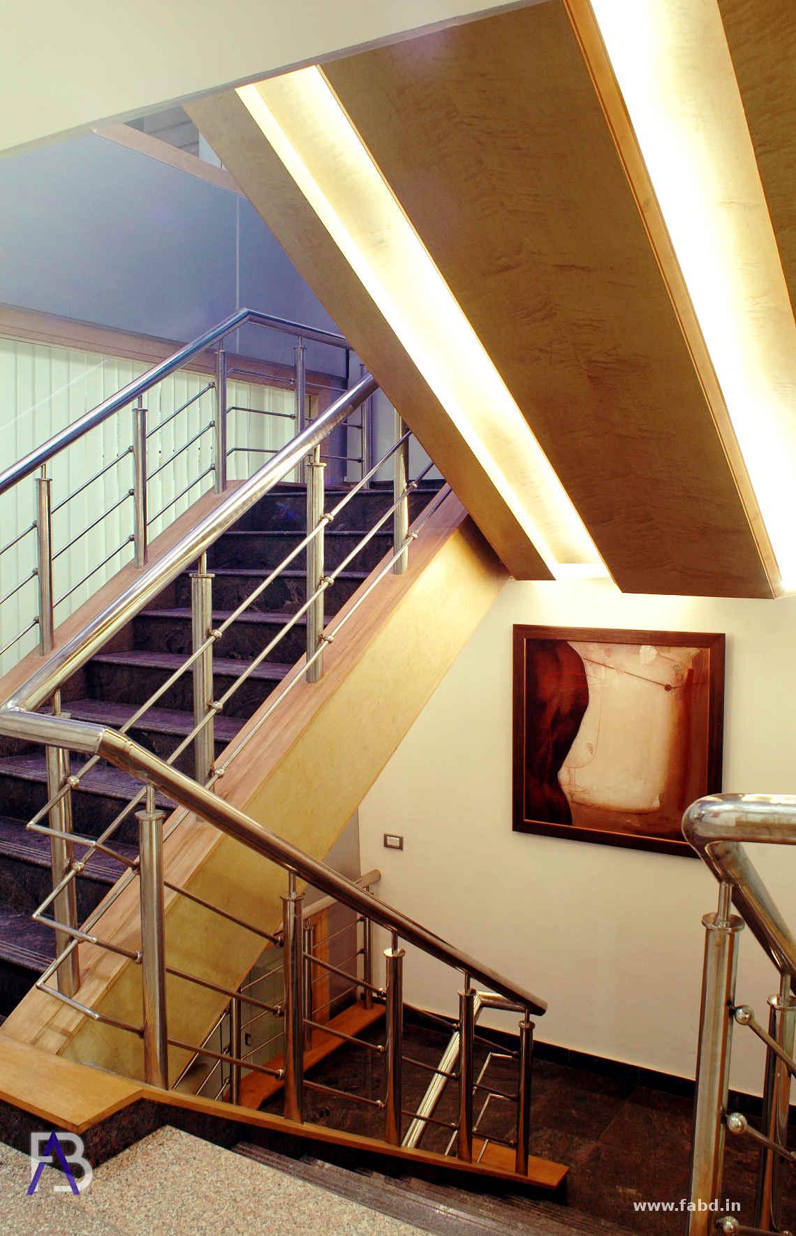 Stairs Interior Rendering 01